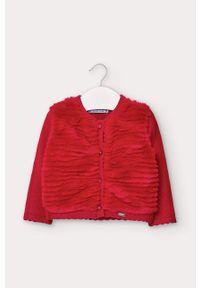 Czerwony sweter Mayoral casualowy, na co dzień