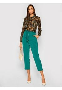 Guess Koszula Eirene W0BH25 WDDD0 Zielony Regular Fit. Kolor: zielony