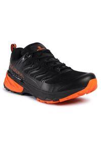 Czarne buty do biegania Scarpa z cholewką