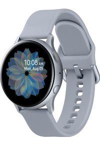 SAMSUNG - Smartwatch Samsung Galaxy Watch Active 2 Silver Alu 44mm Szary (SM-R825FZSADBT). Rodzaj zegarka: smartwatch. Kolor: szary