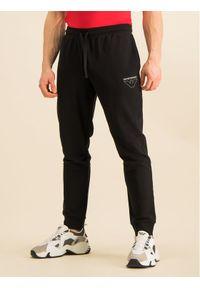 Czarne spodnie dresowe Emporio Armani Underwear