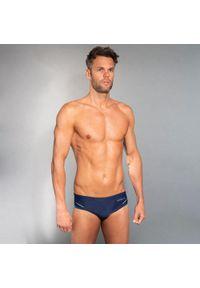 NABAIJI - Slipki Pływackie 900 Yoke Męskie. Kolor: niebieski, żółty, wielokolorowy. Materiał: poliamid, materiał, poliester