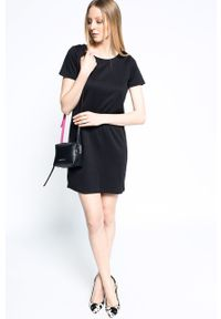 Czarna sukienka Vila mini, na co dzień, casualowa