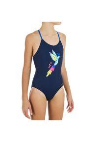 NABAIJI - Strój Jednoczęściowy Pływacki Lila Bird Dla Dzieci. Materiał: poliester, poliamid, materiał, elastan