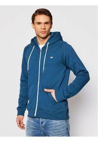 Quiksilver Bluza Everyday EQYFT04138 Niebieski Regular Fit. Kolor: niebieski