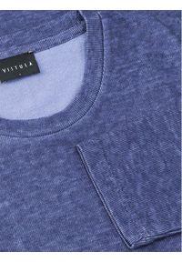 Vistula Bluza Chewa XA1072 Granatowy Regular Fit. Kolor: niebieski