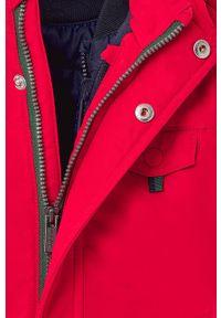 Czerwona kurtka Mayoral z kapturem, casualowa