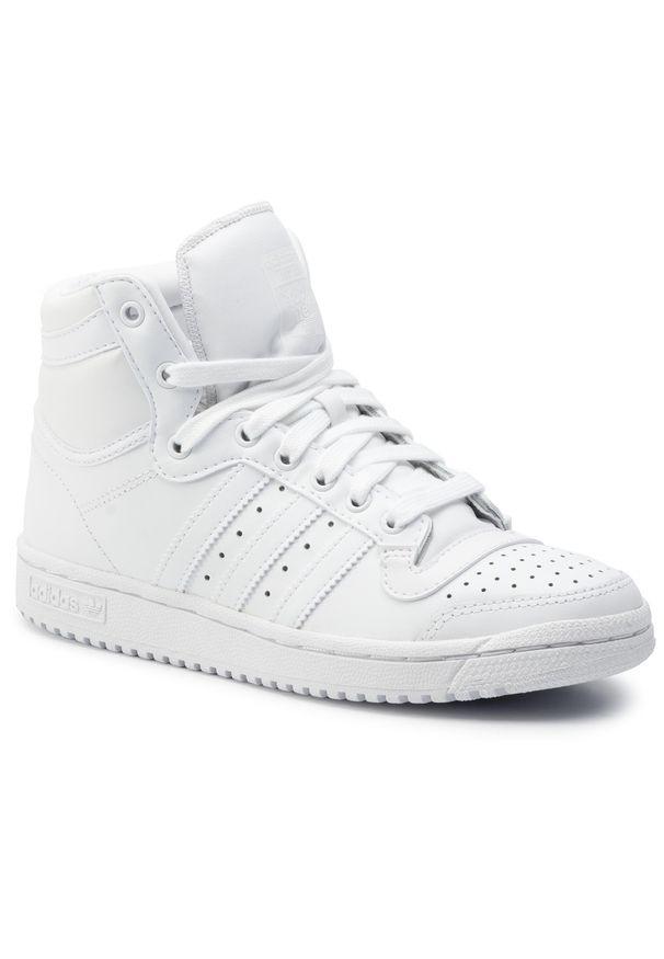 Białe buty sportowe Adidas