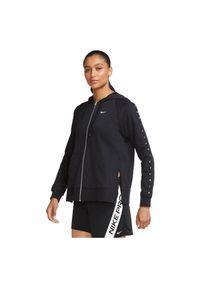 Bluza damska treningowa Nike Dri-FIT Get Fit CU5540. Typ kołnierza: kaptur. Materiał: poliester, bawełna, materiał. Technologia: Dri-Fit (Nike). Sport: fitness