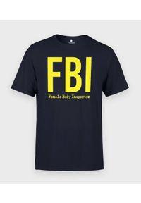 MegaKoszulki - Koszulka męska FBI. Materiał: bawełna