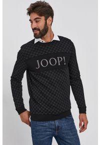 JOOP! - Joop! - Bluza. Okazja: na co dzień. Kolor: czarny. Materiał: dzianina. Styl: casual