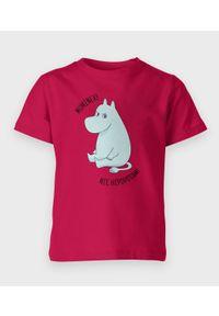 MegaKoszulki - Koszulka dziecięca Muminek, nie hipcio. Materiał: bawełna