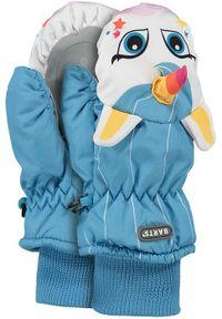 Barts - BARTS Rękawice dziecięce Nylon Mitts 3d WHITE. Materiał: nylon