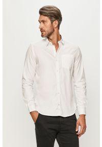 Biała koszula s.Oliver z klasycznym kołnierzykiem, długa, na co dzień, klasyczna