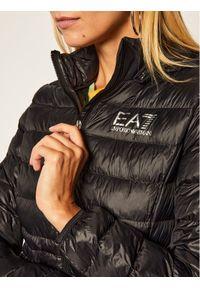 EA7 Emporio Armani Kurtka puchowa 8NTB23 TN12Z 1200 Czarny Slim Fit. Kolor: czarny. Materiał: puch