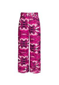 Descente - Spodnie DESCENTE SELENE JR. Kolor: różowy. Materiał: jeans. Wzór: nadruk, aplikacja. Sport: narciarstwo