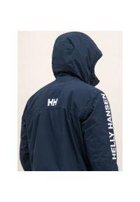 Niebieska kurtka puchowa Helly Hansen #9