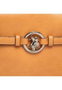 U.S. Polo Assn - Torebka U.S. POLO ASSN. - New Delaw. BEUDW5141WVP521 Tan. Kolor: brązowy. Wzór: aplikacja. Materiał: skórzane