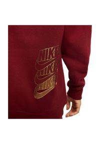 Bluza damska treningowa Nike Sportswear BV4986. Typ kołnierza: kaptur. Materiał: bawełna, dzianina, materiał, tkanina, włókno, poliester