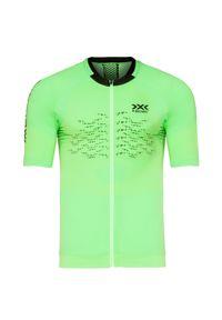 X-Bionic - Koszulka X-BIONIC THE TRICK 4.0 BIKE ZIP. Materiał: włókno. Sport: kolarstwo