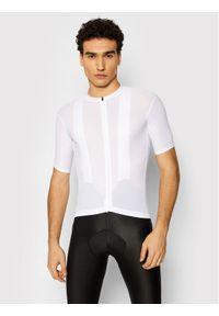 Quest Koszulka rowerowa Superfly Biały Slim Fit. Kolor: biały