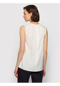 BOSS - Boss Bluzka Iemilyne 50451281 Biały Regular Fit. Kolor: biały