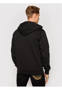Versace Jeans Couture Bluza 71GAIT02 Czarny Regular Fit. Kolor: czarny