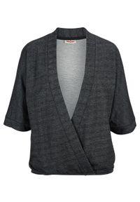 Czarna bluza bonprix
