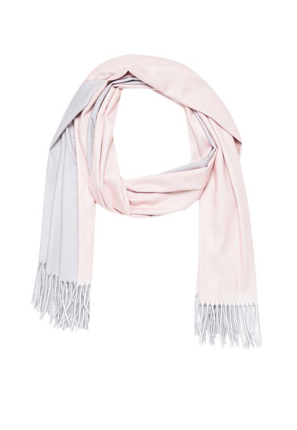 Różowy szalik MOODO