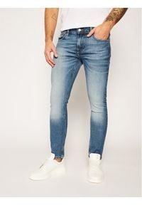 Guess Jeansy Skinny Fit Miami M0YAN1 D4322 Niebieski Skinny Fit. Kolor: niebieski. Materiał: jeans