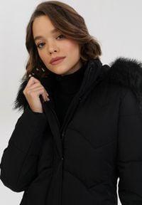 Czarna kurtka zimowa Born2be #6