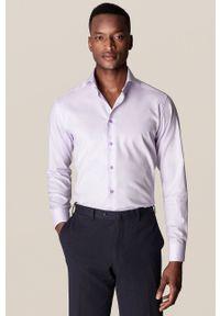 Eton - ETON - Koszula. Typ kołnierza: kołnierzyk włoski. Kolor: fioletowy. Materiał: tkanina. Długość rękawa: długi rękaw. Długość: długie
