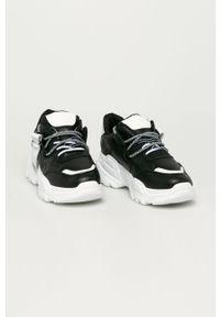 Czarne buty sportowe Answear Lab na średnim obcasie, na obcasie