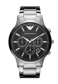 Emporio Armani - Zegarek AR2460. Kolor: srebrny