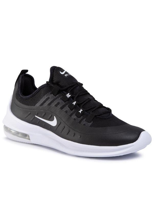 Czarne sneakersy Nike na co dzień, z cholewką, Nike Air Max