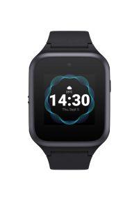 Czarny zegarek TCL smartwatch