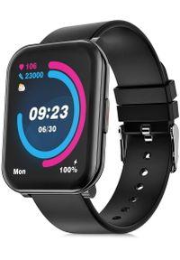Niceboy smartwatch X-fit Watch 2. Rodzaj zegarka: smartwatch. Kolor: czarny. Styl: sportowy, casual