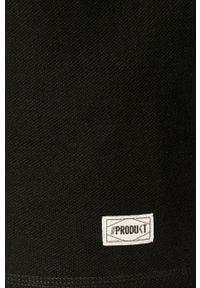 Czarna bluza nierozpinana PRODUKT by Jack & Jones na co dzień, casualowa