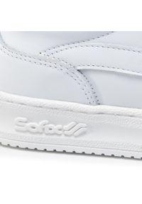 Białe buty sportowe Sofix na co dzień, z cholewką