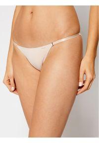 Beżowe figi Calvin Klein Underwear