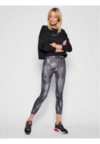 Nike Legginsy Epic Faster Run Division CZ9236 Szary Slim Fit. Kolor: szary. Sport: bieganie