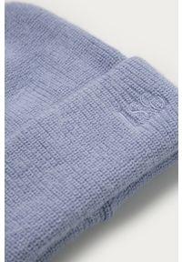 Niebieska czapka Levi's® gładkie, biznesowa