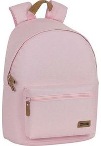 Różowy plecak na laptopa