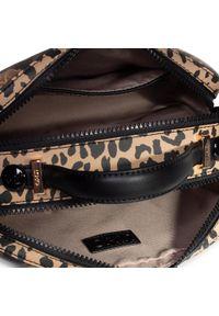 Brązowa torebka klasyczna Liu Jo z motywem zwierzęcym, klasyczna