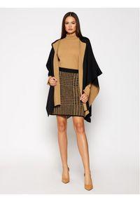 Brązowa spódnica mini Luisa Spagnoli #4