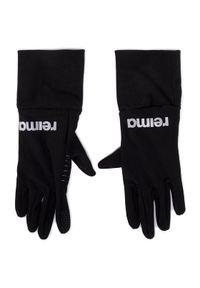 Czarne rękawiczki sportowe Reima