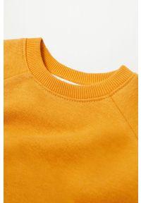 Żółta sukienka Mango Kids casualowa, na co dzień, mini
