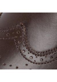 Brązowe sztyblety Sergio Bardi na co dzień, z cholewką, klasyczne