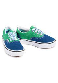 Vans - Tenisówki VANS - Comfycush Era VN0A4U1OWI11 (Lace Mix)True Bl/Fern Gr. Okazja: na uczelnię, na spacer. Kolor: zielony, wielokolorowy, niebieski. Materiał: materiał. Szerokość cholewki: normalna
