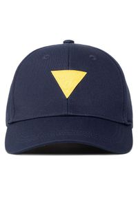 Niebieska czapka z daszkiem Guess #5